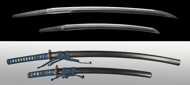 Edo Period Daisho Gassan Sadayoshi